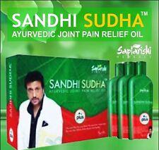 100% ORIGINAL PACK 3 BOTTLES SAPTARISHI SANDHI SUDHA PLUS OIL 200ml EACH