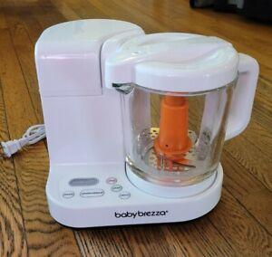 BABY BREEZA Baby Food Maker One Step Steamer / Blender - used 2X