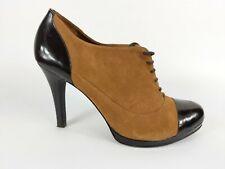Antonio Melani Two Tone Leather High Heel Shoes Uk 7.5 US 9.5