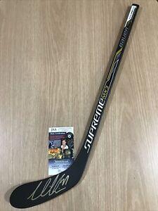 Victor Hedman Tampa Bay Lightning Autographed Mini Bauer Hockey Stick w/ JSA COA