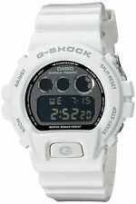 Casio G-Shock Metallic White Mens Digital Watch - Casio DW6900NB