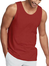 Mens Tank Top Cotton Shirt Sleeveless Tee Casual Active Yoga Gym Summer