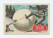 1966 A&BC Batman Red Bat, # 22A — Death Skis the Slopes