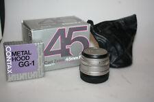 contax 45mm f2 g