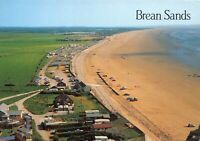 Postcard Brean Sands, Somerset, Sun, Sea, Sand, Family, Holidays, Caravans 46X