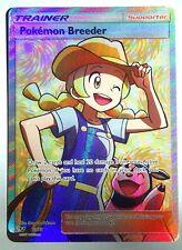 Pokemon Breeder - 73/73 - Full Art Ultra Rare Shining Legends Pokemon Near Mint