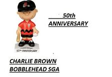 PRESALE SF Giants 7/22/2017 Charlie Brown Peanuts Bobblehead SGA