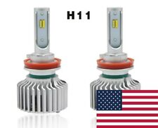 2018 Tri-Color Switch Back LED Headlight Kit, H11/H8, 6000K/3000K/4500K/Strobe
