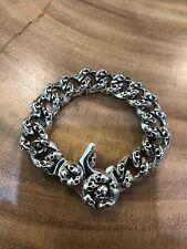 Lena K not Chrome Hearts King Skull Bracelet Baby Bwl