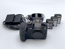 Panasonic Lumix DC-GH5 Mirrorless Micro Four Thirds Digital Camera + Extra Bats