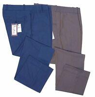 Classic Men's Retro Vintage Sta Press Trousers 60s 70s Slim Fit Tonic Two Tone