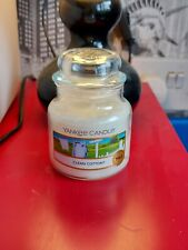Yankee Candle Clean Cotton Small Jar Candle - 104g