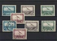 BELGIUM 1930 AIR  STAMPS MOUNTED MINT AND USED CAT £100  REF R 2836