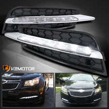 2011-2014 Chevy Cruze SMD LED Driving DRL Fog Lights 6000K Pair