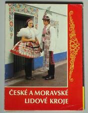 CZECH & MORAVIAN FOLK COSTUMES ethnic dress kroj book embroidery fashion art