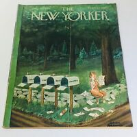 The New Yorker: July 30 1960 Full Magazine/Theme Cover Chas Addams