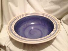 "Pfaltzgraff RIO 11 3/4"" Serving Bowl - Beautiful Blue Circles and Swirls"