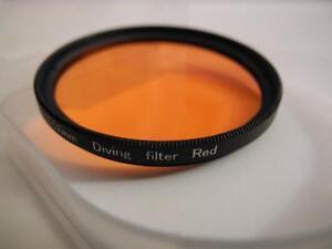 67mm Red Underwater Dive Filter for Olympus PT-020 PT-022 PT-027 PT-050 PT-054