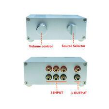 Passive Preamp Pre-Amplifier Switch Box Dact type attenuator volume Control HIFI