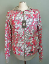 FENCHURCH Reversible SMALL S Hoody Hooded Top NEW blue pink skateboard surf