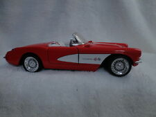 1957 RED SUNNYSIDE ROADSTER CHEVROLET CORVETTE CONVERTIBLE DIECAST #SS708