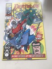 Deathlok #2 (Aug 1991, Marvel)