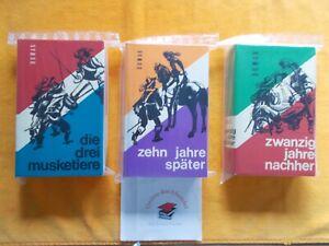 Alexandre Dumas-Die drei Musketiere,-10 Jahre später,-20 Jahre nachher,3er Samml