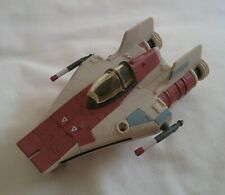 More details for star wars action fleet a wing fighter micro machines including figure  1995