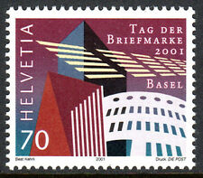 Switzerland 1110, MNH. Stamp Day. Stamp Design Competition Winner, 2001