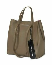 Marc Jacobs The Tag 27 Pebble Leather Tote Loam Soil M0015656