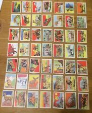 Wild Animals Lot Of 49 Cards UK Trade Issue