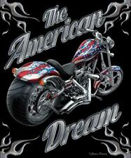 """The American Dream Smooth Touch Throw Blanket 50"""" x 60"""" Motorcycle Brand New #2"""