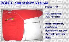 Nice Price - DONIC Sweatshirt 'Vesuvio' rot - neu