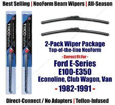 2pk Super-Premium NeoForm Wipers - fit 1982-1991 Ford E-100 E-150 E-250  16180x2