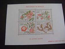 MONACO 1989 Seasons of the Pomegrante MINIATURE SHEET SG MS 1946 MNH Cat £16.00