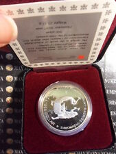 CANADA DOLLAR ARGENT 250° SAINT MAURICE 36 mm. 23 gr.