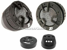 "PAIR NEW POWER ACOUSTIK NB-4 250 WATT CAR TWEETERS NB4 1"" TWEETER PAIR BLACK W@W"