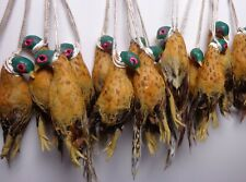 1:12 Scale 1 x Hanging Pheasant  Dollhouse Miniature Game Birds  ( Only one)