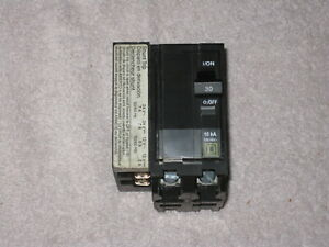 Square D QOB23052371042 (qob230 5237 1042) BOLT-ON SHUNT TRIP Circuit Breaker