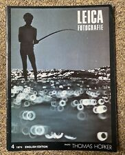 LEICA FOTOGRAFIE MAGAZINE 4 1974 ENGLISH EDITION VINTAGE GOOD CONDITION