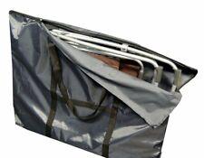 Housse de protection sac de transport pour chaise relax lafuma siesta l, 102 x 8
