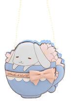 LB-72 Hell-blau Tea Cup Tasse Rabbit Hase Schleife Lolita Bag Japan Tasche Goth