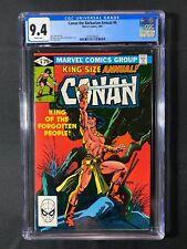 Conan the Barbarian Annual #6 CGC 9.4 (1981)
