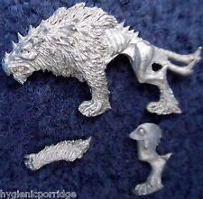 2003 Chaos Warhound 1 Games Workshop Warhammer Army Dog Hell Hound Beast Wolf GW