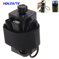 4 in 1 Waterproof Battery Pack Case Box House Cover 8.4V 18650 For Bicycle Lamp
