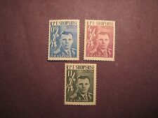 Albania Stamp Scott# 604-6 Yuri A. Gagarin 1961 MNH C48B4