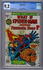 WHAT IF? #1 CGC 9.2 WHITE PAGES!!!