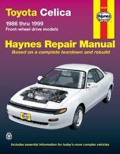 Haynes 92020 Repair Manual for Toyota Celica FWD (1986-1999)