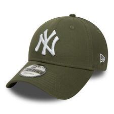 NEW ERA MENS 9FORTY BASEBALL CAP.GENUINE NEW YORK YANKEES GREEN ADJUSTABLE HAT 0