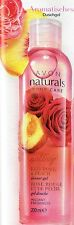 Avon Naturals Rote Rose & Pfirsich Duschgel